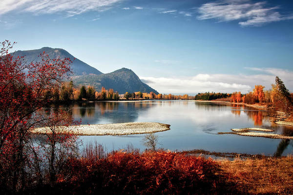 Photograph - End Of The Clark Fork by Albert Seger