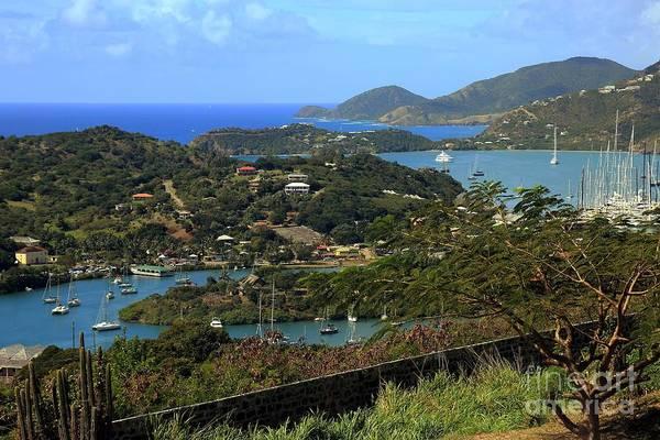 Shirleys Bay Photograph - English Harbor Antigua by Sophie Vigneault