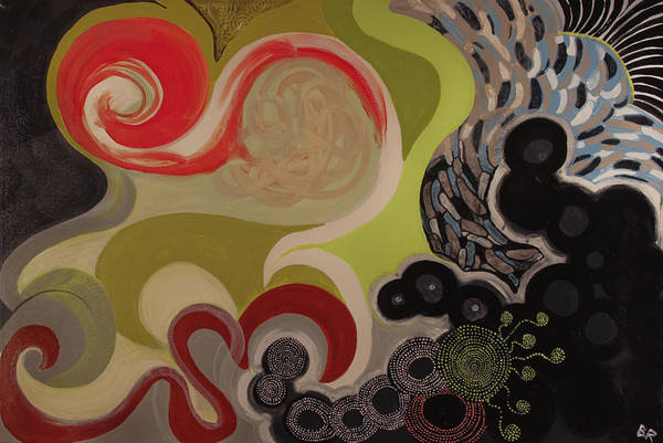 Entangled Painting - Entangled by Beth Fowler