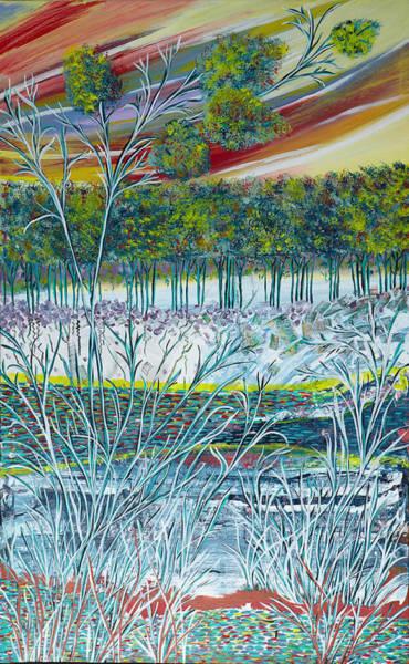 Exotic Landscape  Art Print
