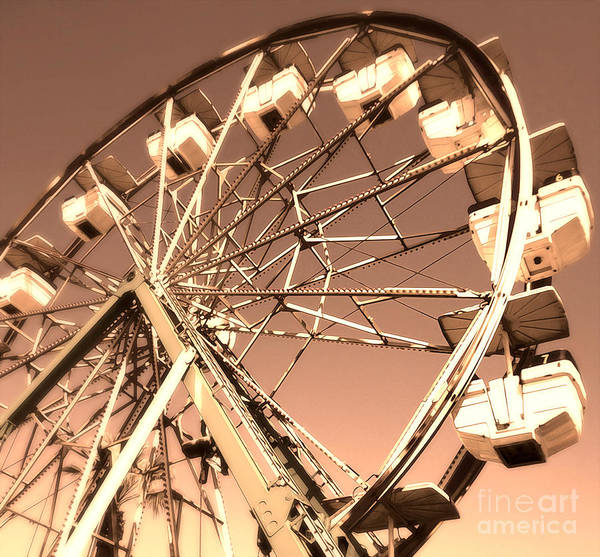 Photograph - Ferris Wheel by Gregory Dyer
