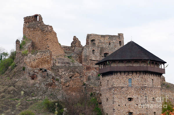 Photograph - Filakovo Hrad - Castle by Les Palenik