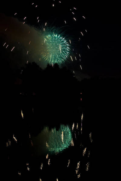 Photograph - Fireworks On Golden Ponds.  by James BO Insogna