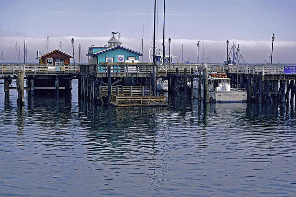 Photograph - Fishermans Warf Monterey by William Havle