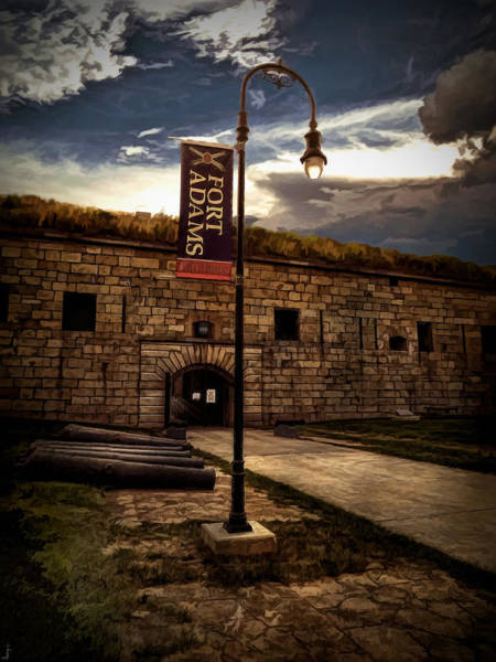 Newport Ri Wall Art - Photograph - Fort Adams State Park by Lourry Legarde