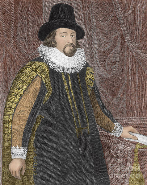 1621 Photograph - Francis Bacon, English Polymath by Photo Researchers