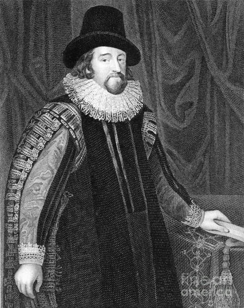 1621 Photograph - Francis Bacon, English Polymath by Science Source