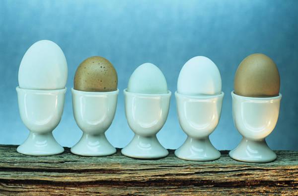 Egg Cup Photograph - Fresh Eggs by David Aubrey