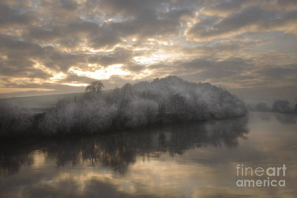 Wall Art - Photograph - Frozen River by Angel Ciesniarska