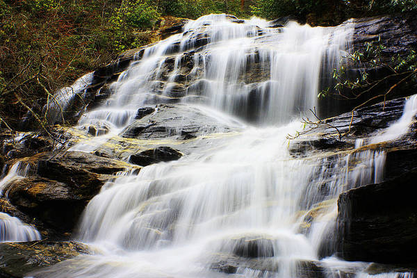 Photograph - Glen Falls Highlands Nc 2 by Sheila Kay McIntyre
