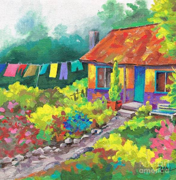 Painting - Good Drying Day. by Val Stokes