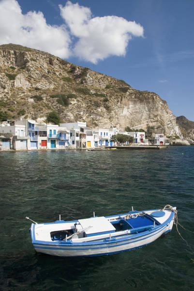 Wall Art - Photograph - Greek Fishing Boat by Gloria & Richard Maschmeyer