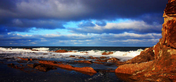 Gros Morne Photograph - Green Point Seascape by Robert Lange