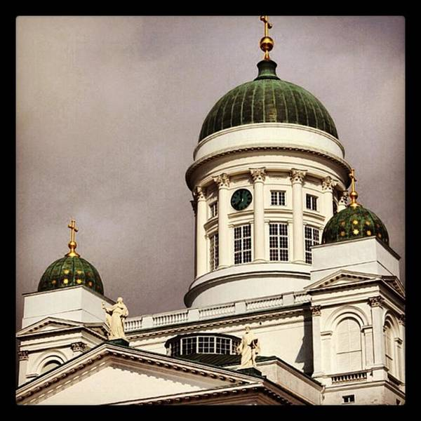 Home Wall Art - Photograph - Helsinki by Luisa Azzolini