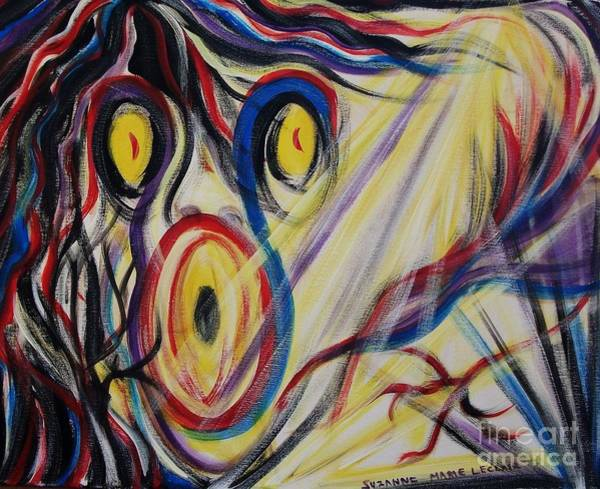 Leclair Painting - Holy Terror by Suzanne  Marie Leclair