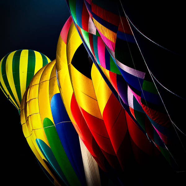 Photograph - Hot Air Balloons by David Patterson