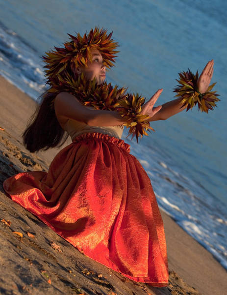 Hula Wall Art - Photograph - Hula Girl by James Roemmling