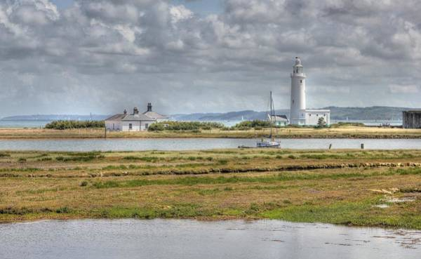 Hurst Wall Art - Photograph - Hurst Point Lighthouse by David French