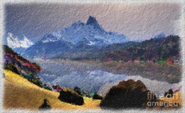 Wall Art - Painting - I Love The Rocky Mountains  by Heinz G Mielke