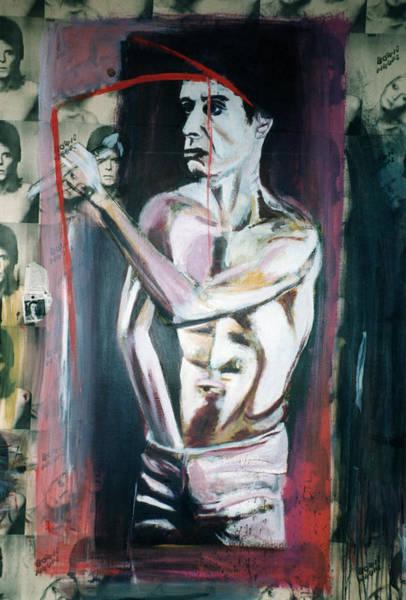 Iggy Pop Painting - Iggy Pop Paris Palace by Fabrice Plas