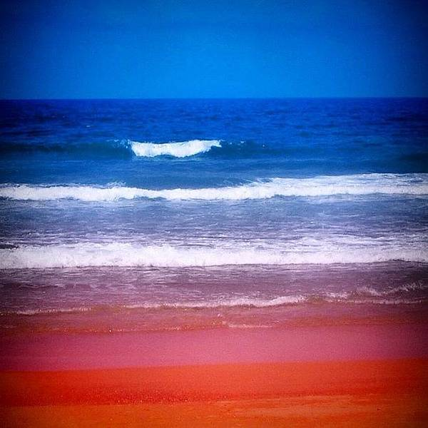 Travel Photograph - Indian Ocean by Luisa Azzolini