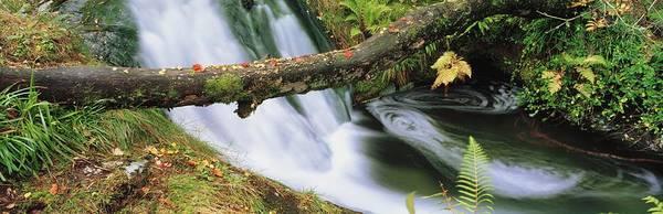 Horizontally Photograph - Ireland Waterfall by The Irish Image Collection
