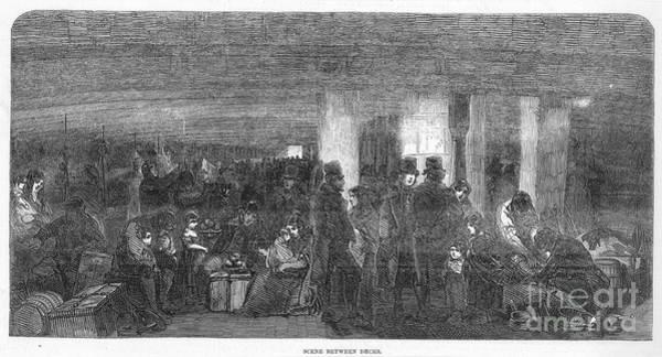 Photograph - Irish Emigration by Granger