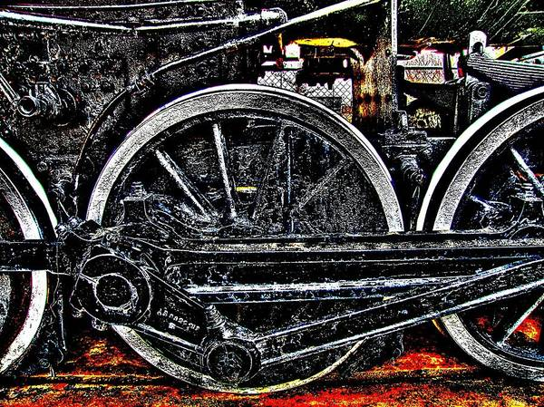 Photograph - Iron Hooves by HW Kateley