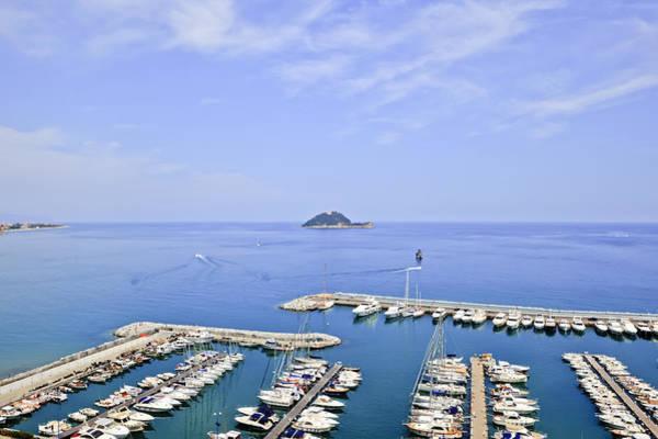 Riviera Photograph - Island Gallinara by Joana Kruse