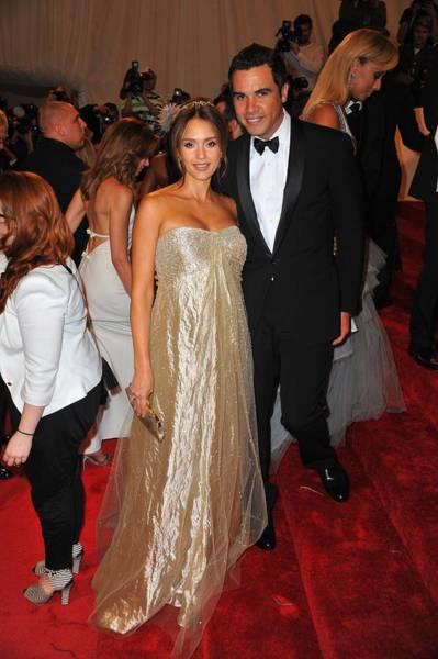 Jessica Alba Photograph - Jessica Alba Wearing Ralph Lauren by Everett