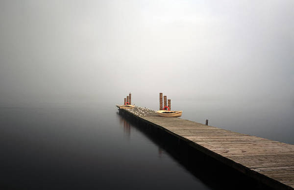 Photograph - Jetty On Loch Lomond by Grant Glendinning
