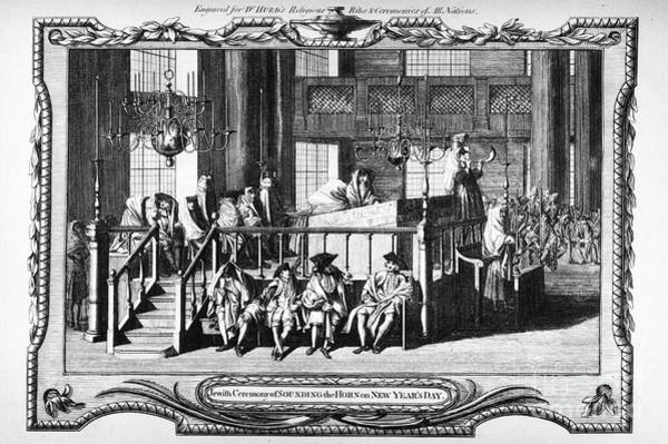 Shofar Wall Art - Photograph - Jewish Life, 18th Century by Granger