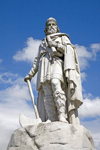Wall Art - Photograph - King Alfred The Great Of England by Sheila Terry