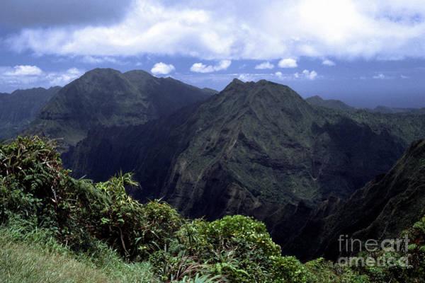 Photograph - Koolau Mountains by Thomas R Fletcher