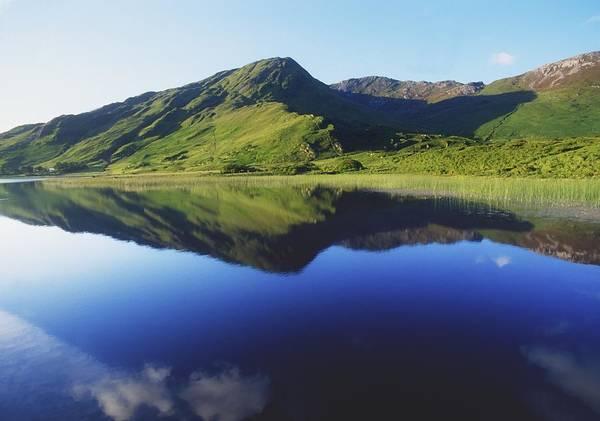 Horizontally Photograph - Kylemore Lake, Co Galway, Ireland Lake by The Irish Image Collection