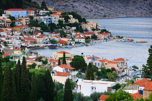 Photograph - Lagada. Chios Greece  by Emmanuel Panagiotakis