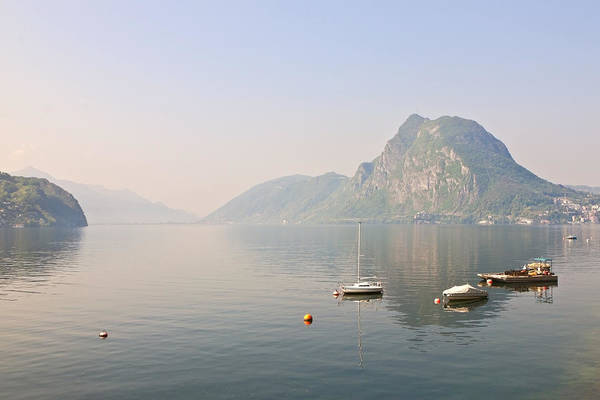 Wall Art - Photograph - Lago Di Lugano by Joana Kruse