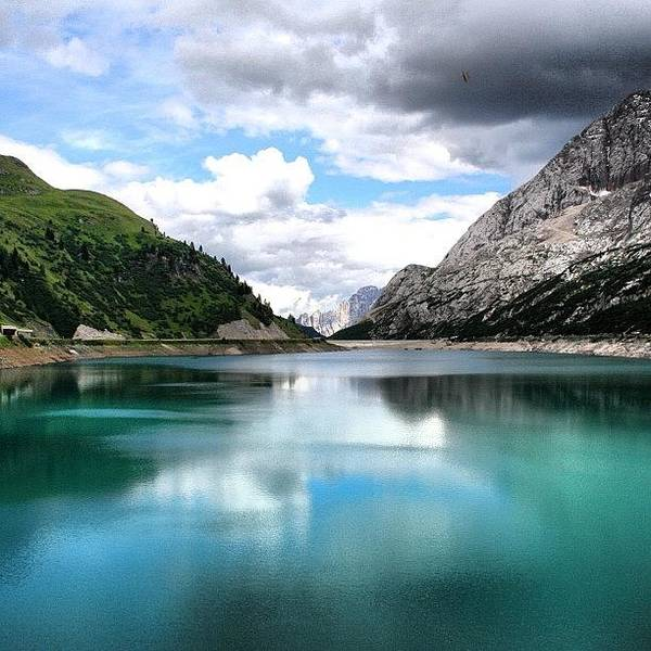 Cloud Photograph - Lago Fedaia by Luisa Azzolini