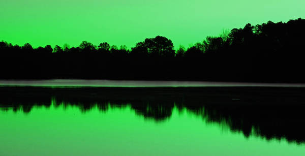 Photograph - Lake Brandt In Green by Sheila Kay McIntyre