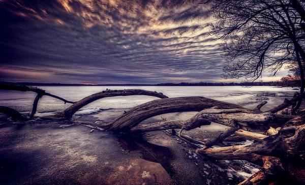 Lake Sunset Photograph - Lake Neatahwanta by Everet Regal