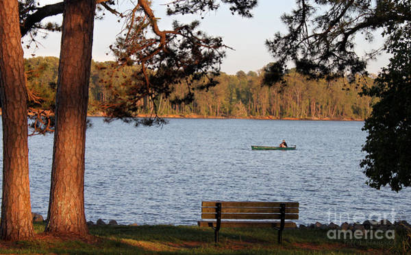 Photograph - Lakeside by Todd Blanchard