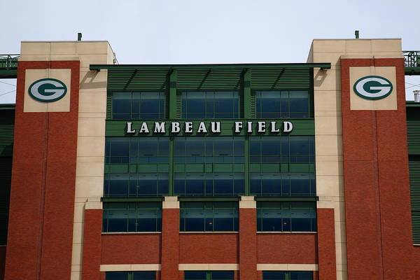 Photograph - Lambeau Field - Green Bay Packers by Frank Romeo