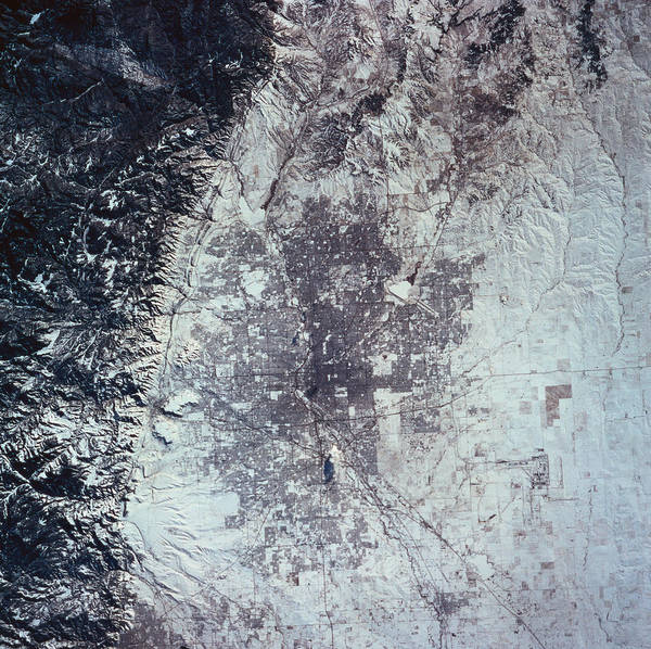 Photograph - Landscape Of The Earth Viewed From Space by Stockbyte