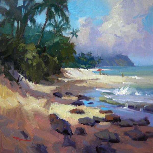 Wall Art - Painting - Laniakea by Richard Robinson