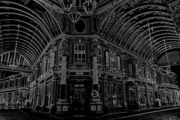 Wall Art - Digital Art - Leadenhall Market London by David Pyatt