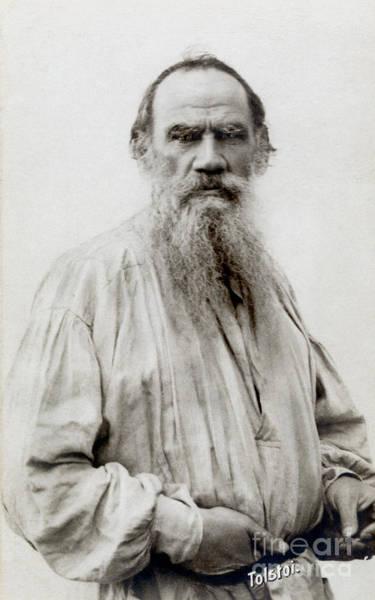 Photograph - Leo Nikolaevich Tolstoy by Granger