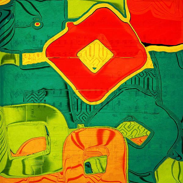 Saffron Digital Art - Lifesong by Bonnie Bruno