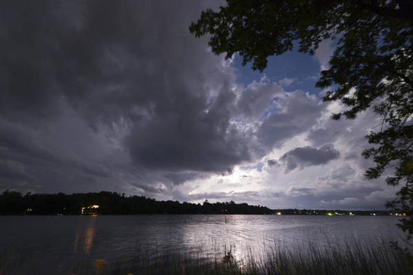 Photograph - Lightning Lighting by Gary Eason