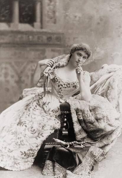 Mistress Photograph - Lillie Langtry 1853-1929, English by Everett