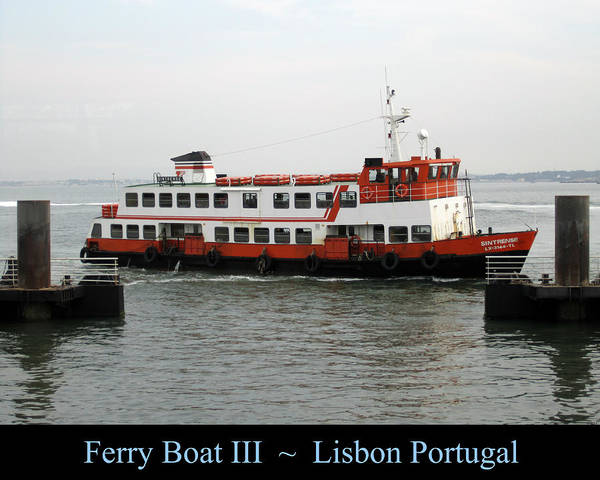 Photograph - Lisbon Ferry Boat IIi Portugal by John Shiron